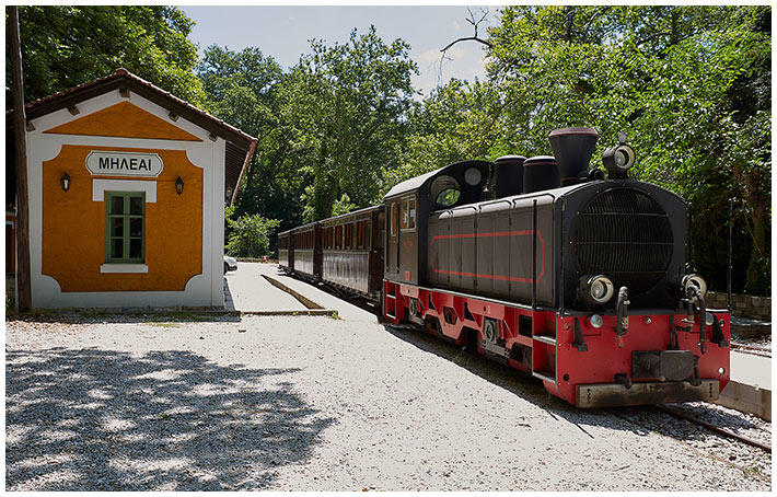 The Pelion Steam Train